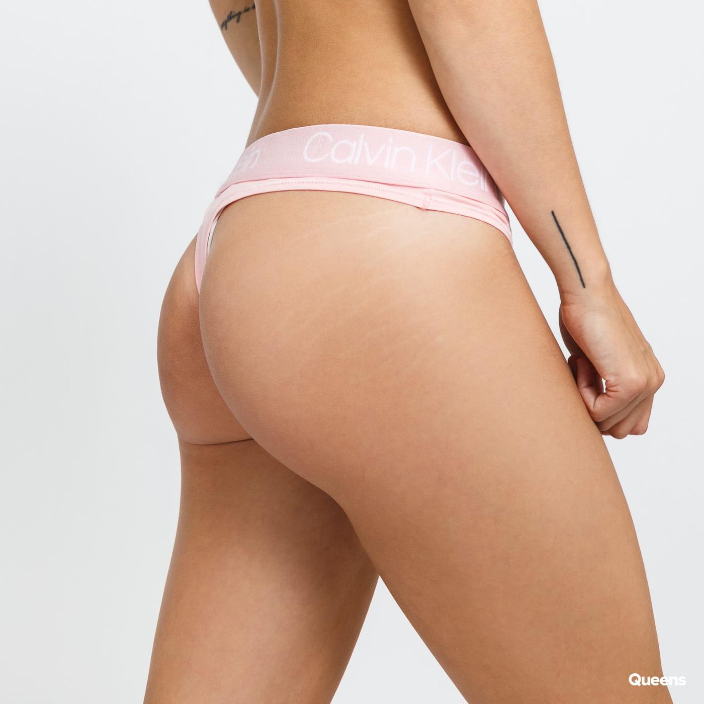 Calvin Klein Thong světle růžové