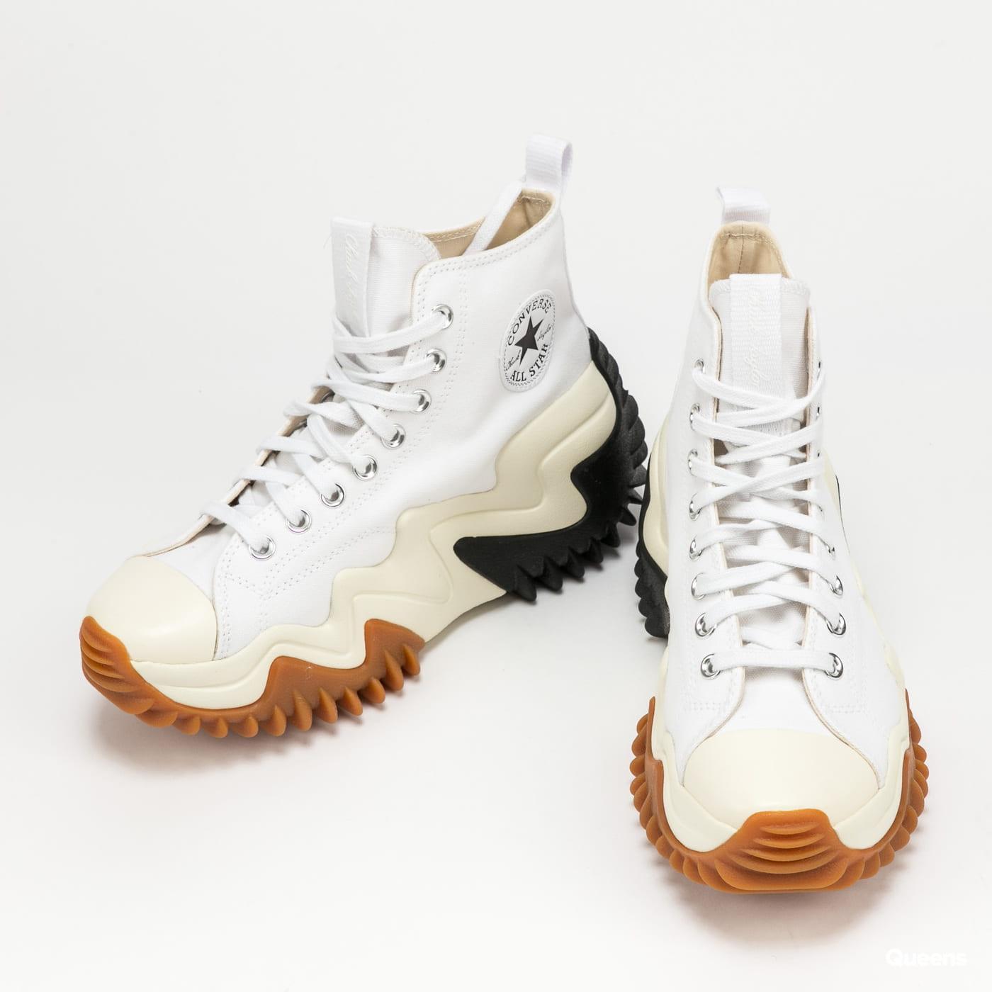 Converse Run Star Motion Hi white / black / gum honey