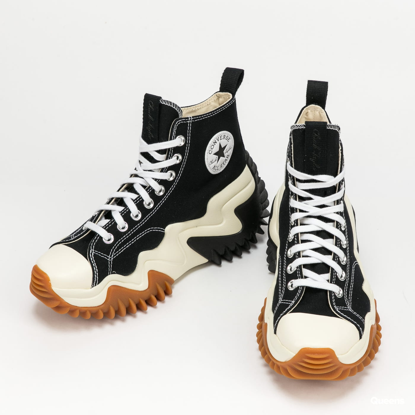 Converse Run Star Motion Hi black / white / gum honey