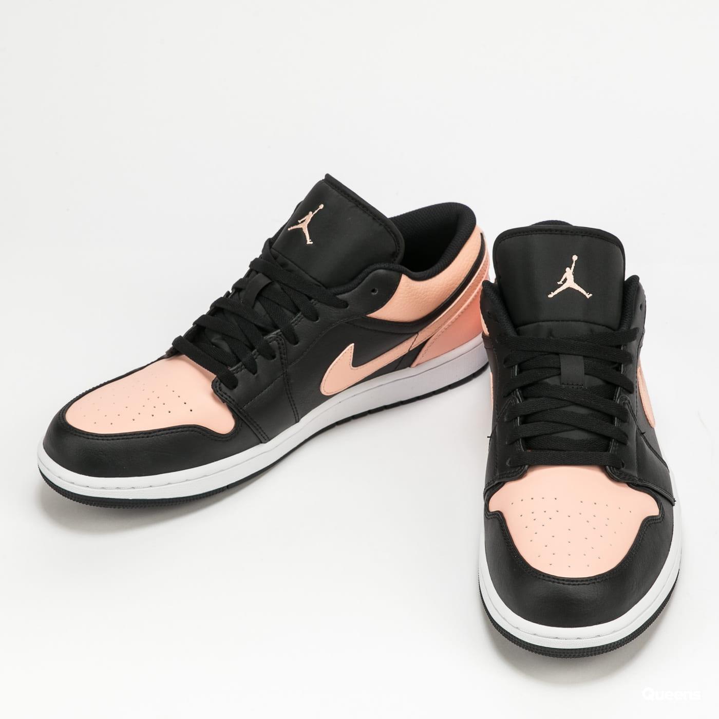 Jordan Air Jordan 1 Low black / arctic orange - white