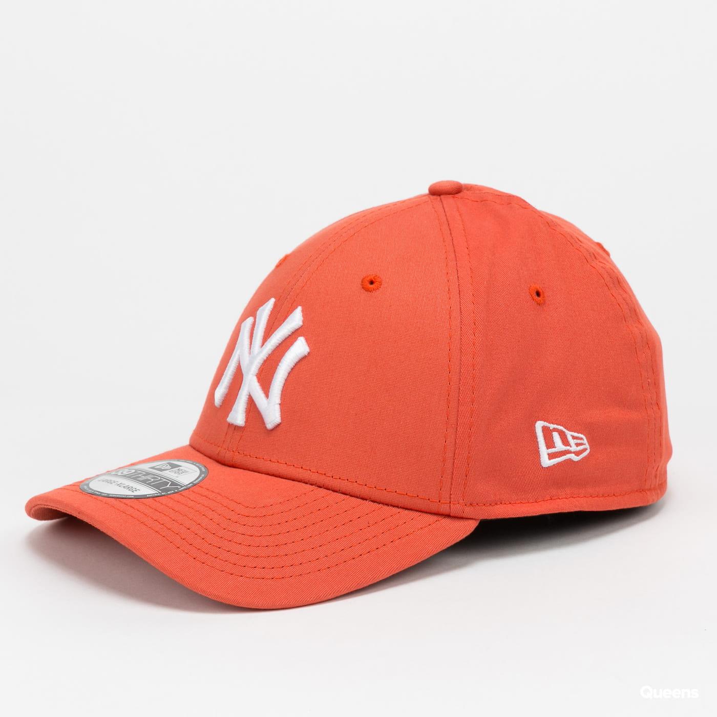 New Era 3930 MLB League essential NY orange