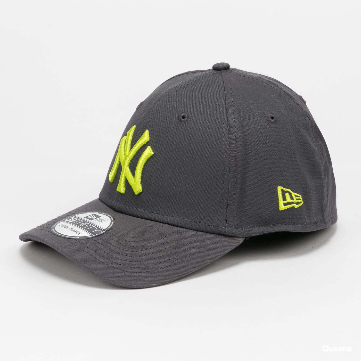New Era 3930 MLB League Essential NY tmavě šedá
