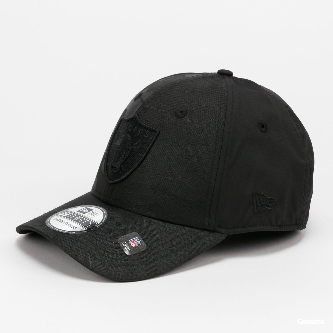 New Era 3930 NFL Black Camo Raiders gray / beige / pink / black