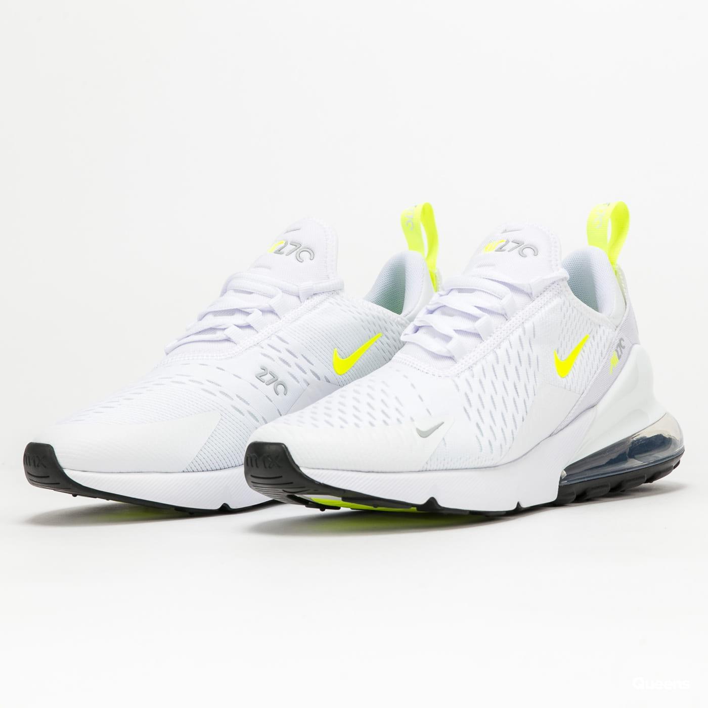 Nike Air Max 270 Ess white / volt - wolf grey - black