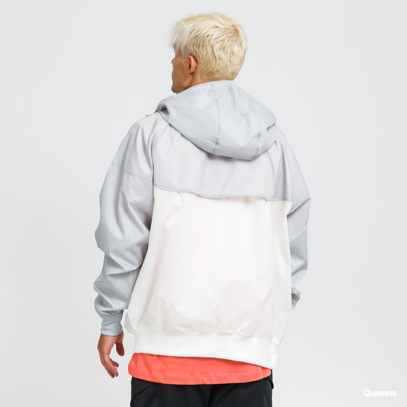 Nike M NSW SPE Woven LND Windrunner Hooded Jacket gray / white