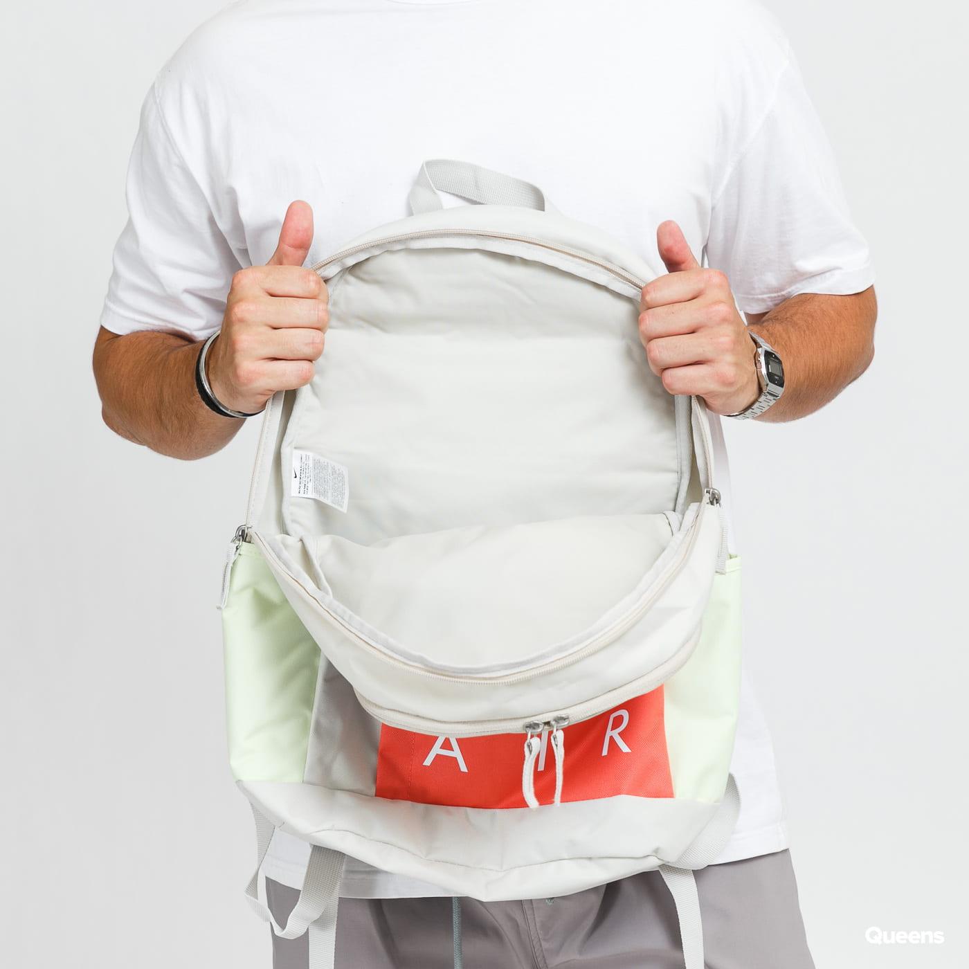 Nike NK ELMNTL Backpack - NK Air gray / blue / red