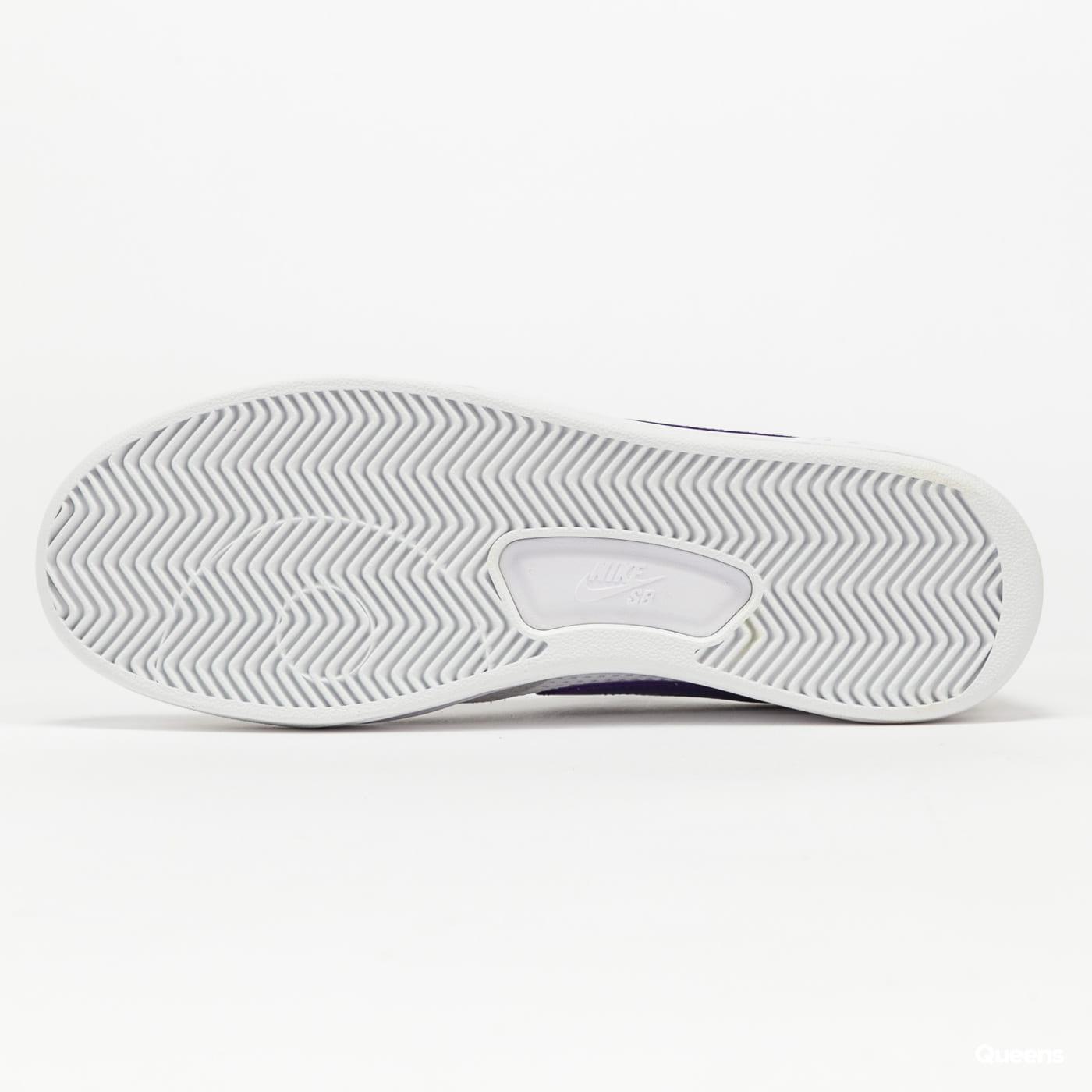 Nike SB Adversary grey fog / court purple - grey fog