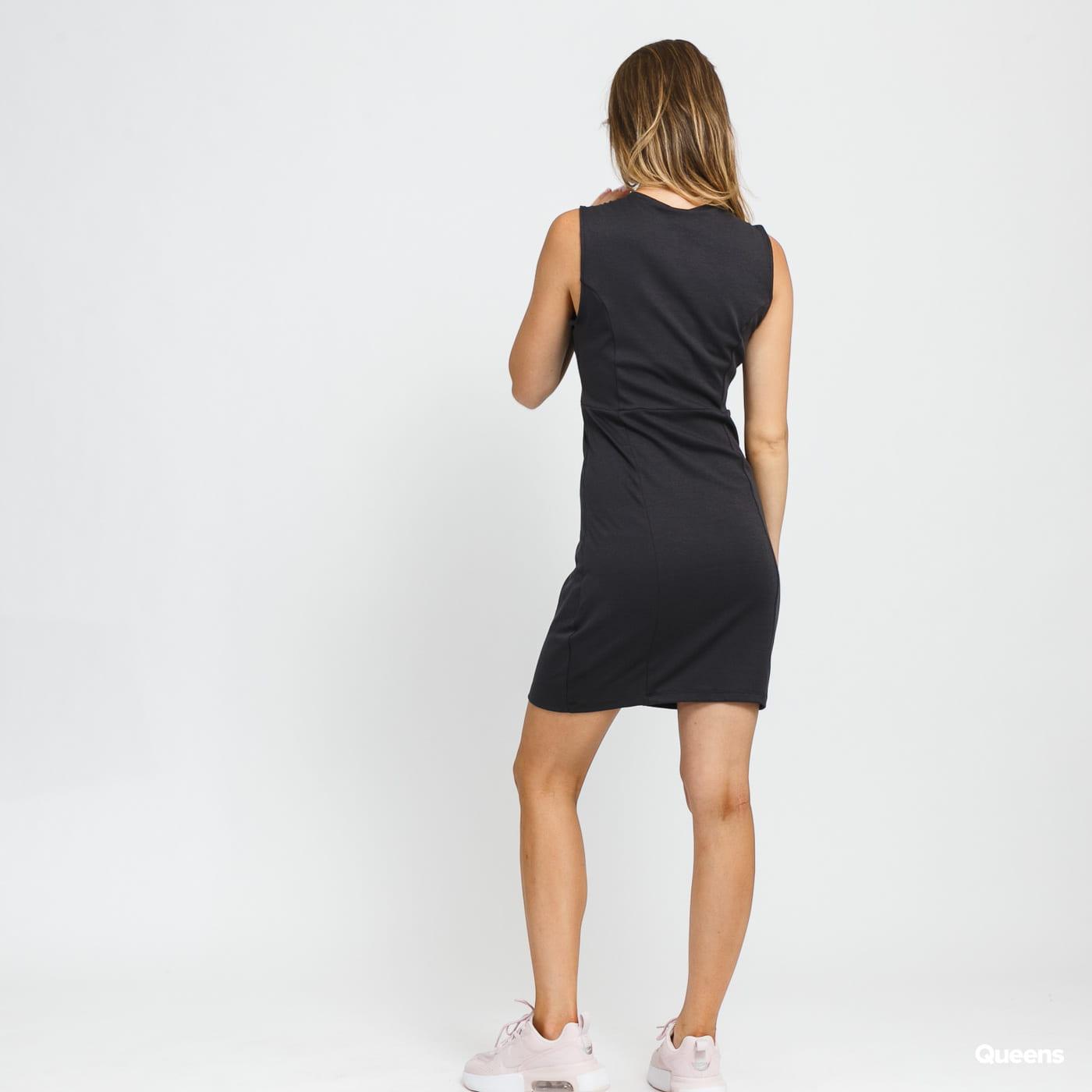 Nike W NSW Air Midi Dress tmavě šedé