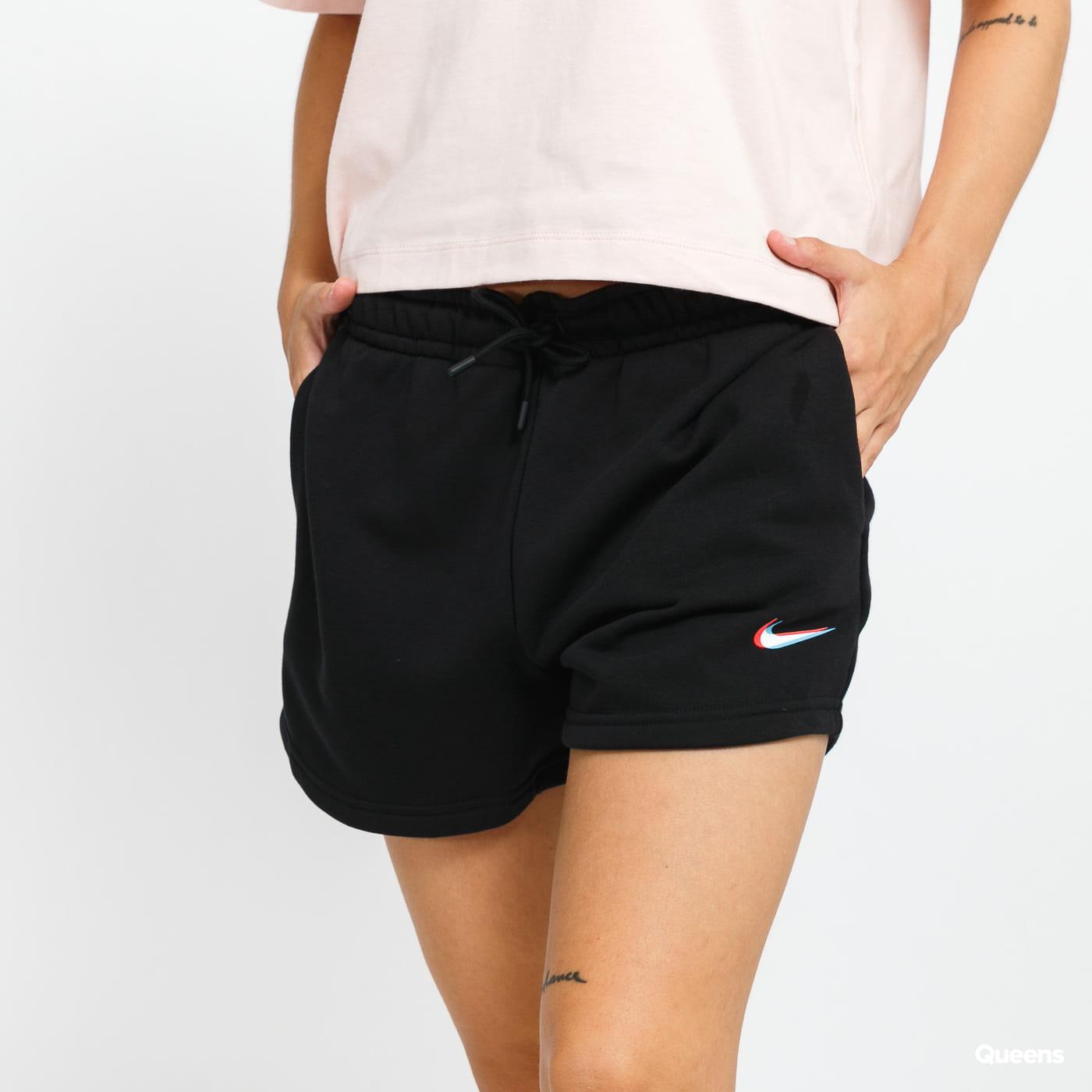 Nike W NSW Essential Short Print černé