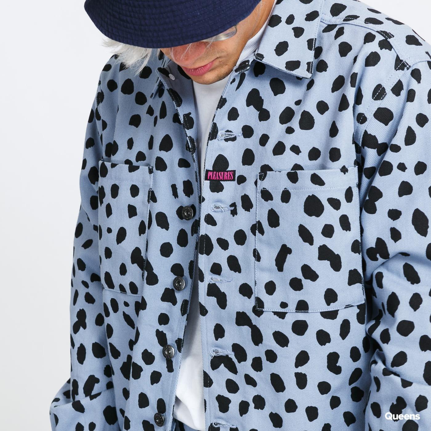 PLEASURES Dalmatian Work Jacket light blue
