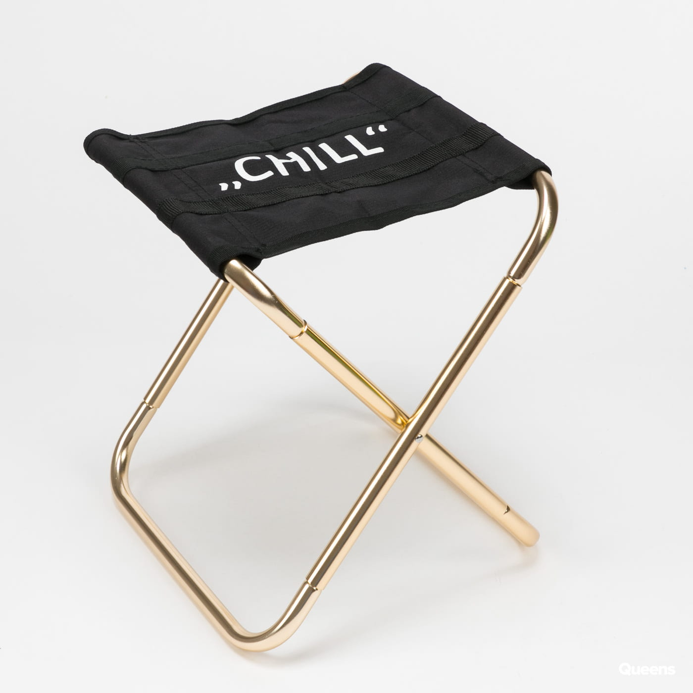 Urban Classics Chill Camping Chair gray / beige / pink / black