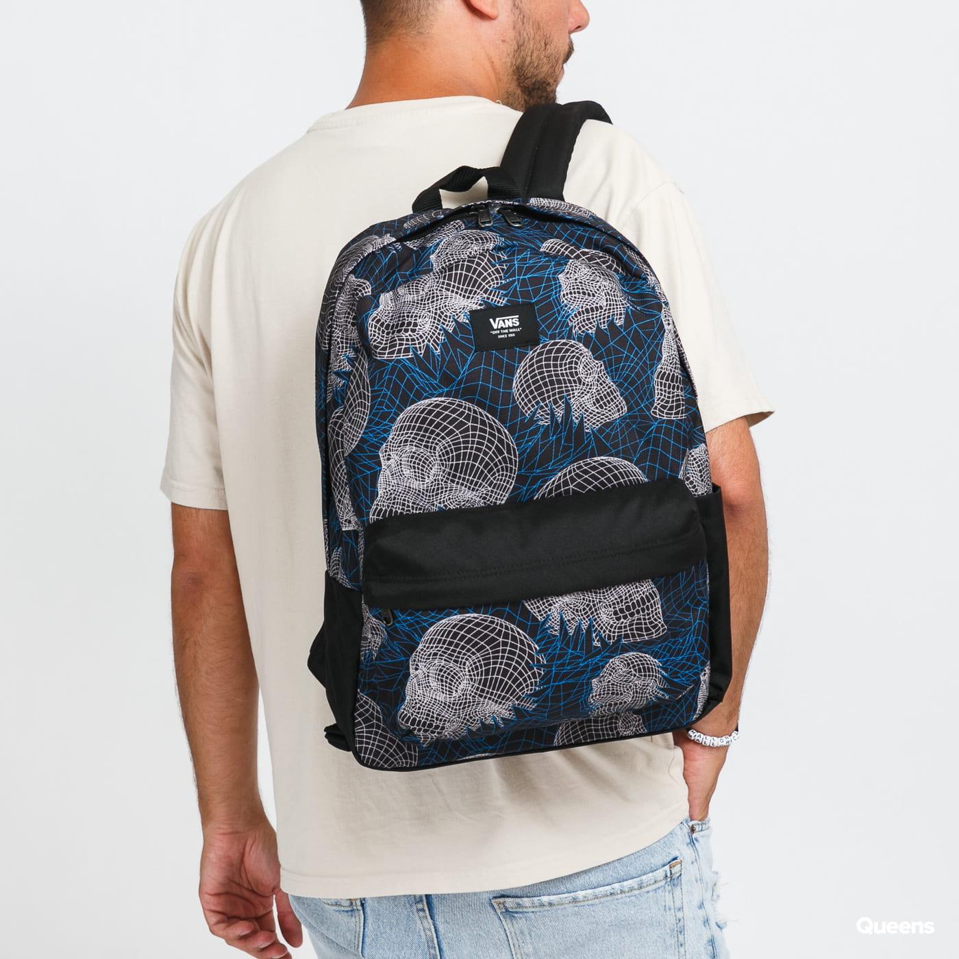 Vans Old Skool IIII Backpack černý / modrý / krémový
