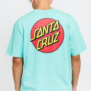Santa Cruz Classic Dot Chest Tee mentolové