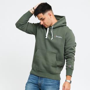 Champion Left Chest Logo Hooded Sweatshirt