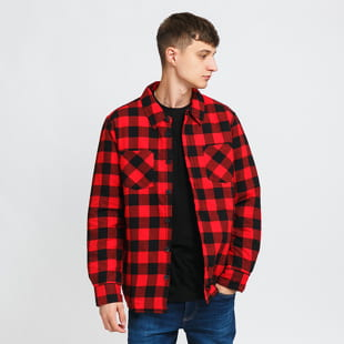 Urban Classics Padded Check Flannel Shirt
