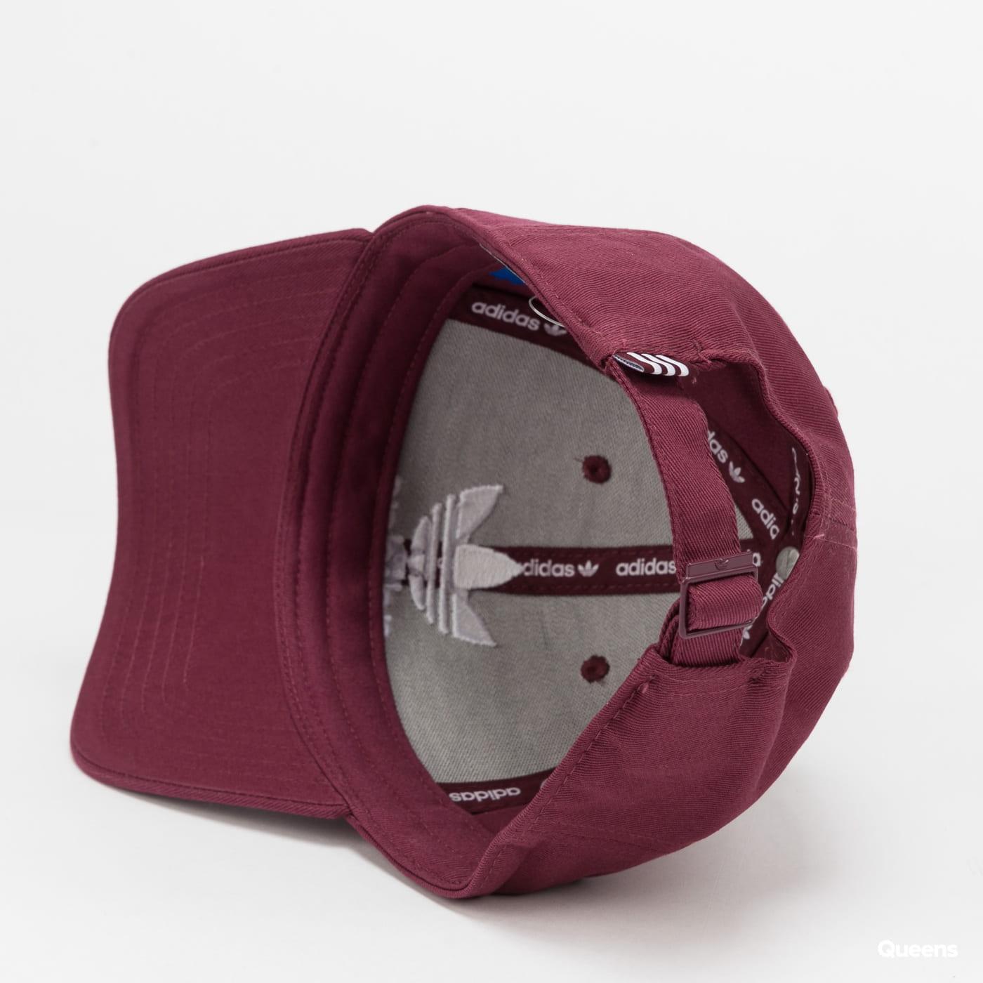 adidas Originals Baseball Classic Trefoil Cap vínová