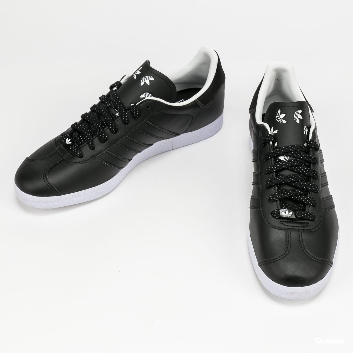 adidas Originals Gazelle cblack / ftwwht / blubir