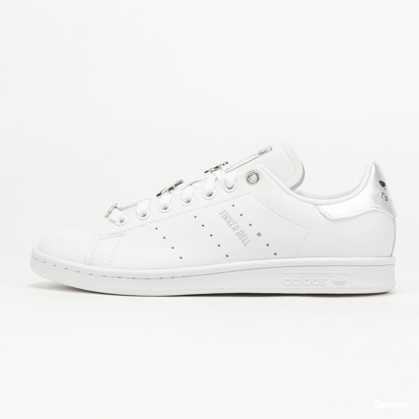 adidas Originals Stan Smith ftwwht / silvmt / scarle