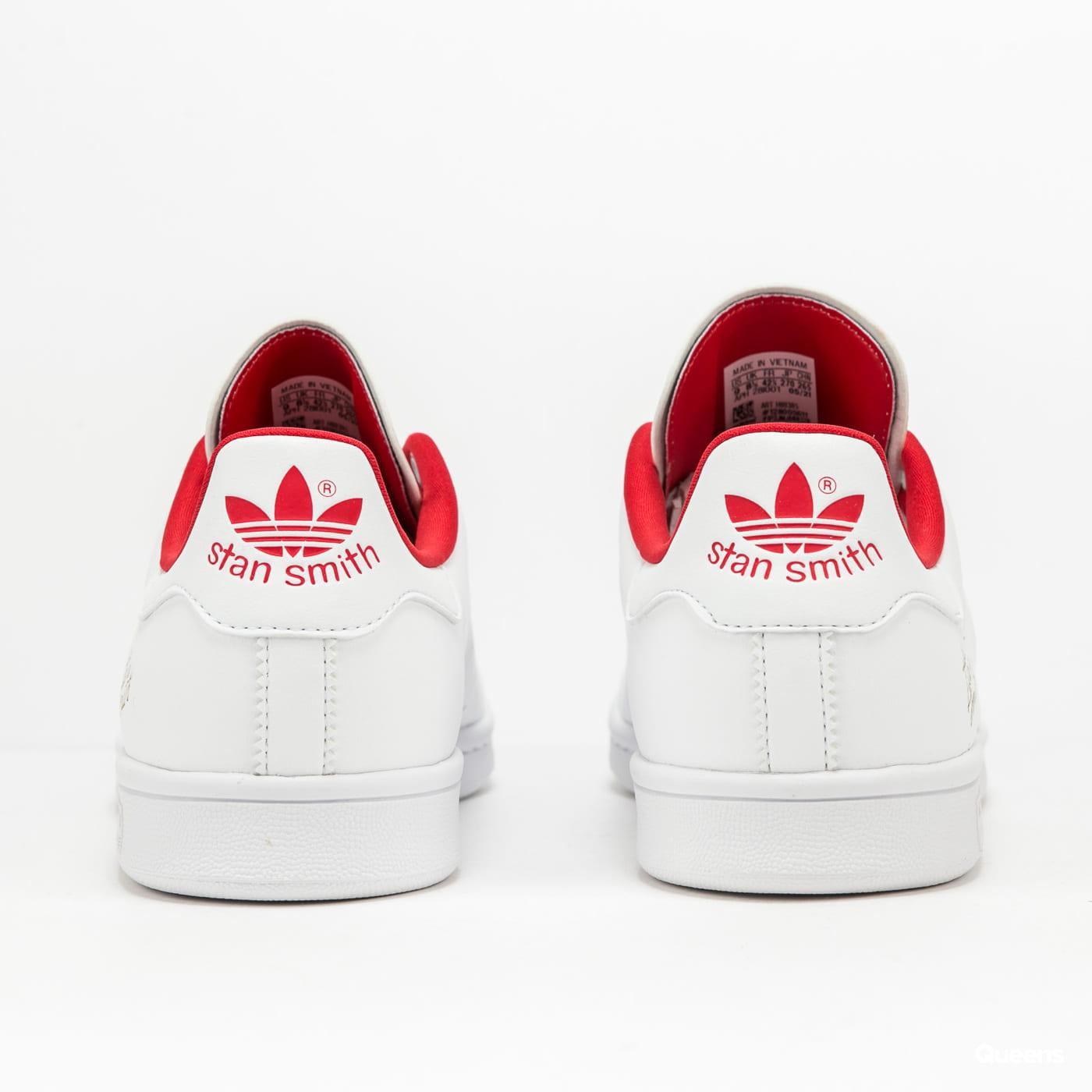adidas Originals Stan Smith ftwwht / ftwwht / scarlet