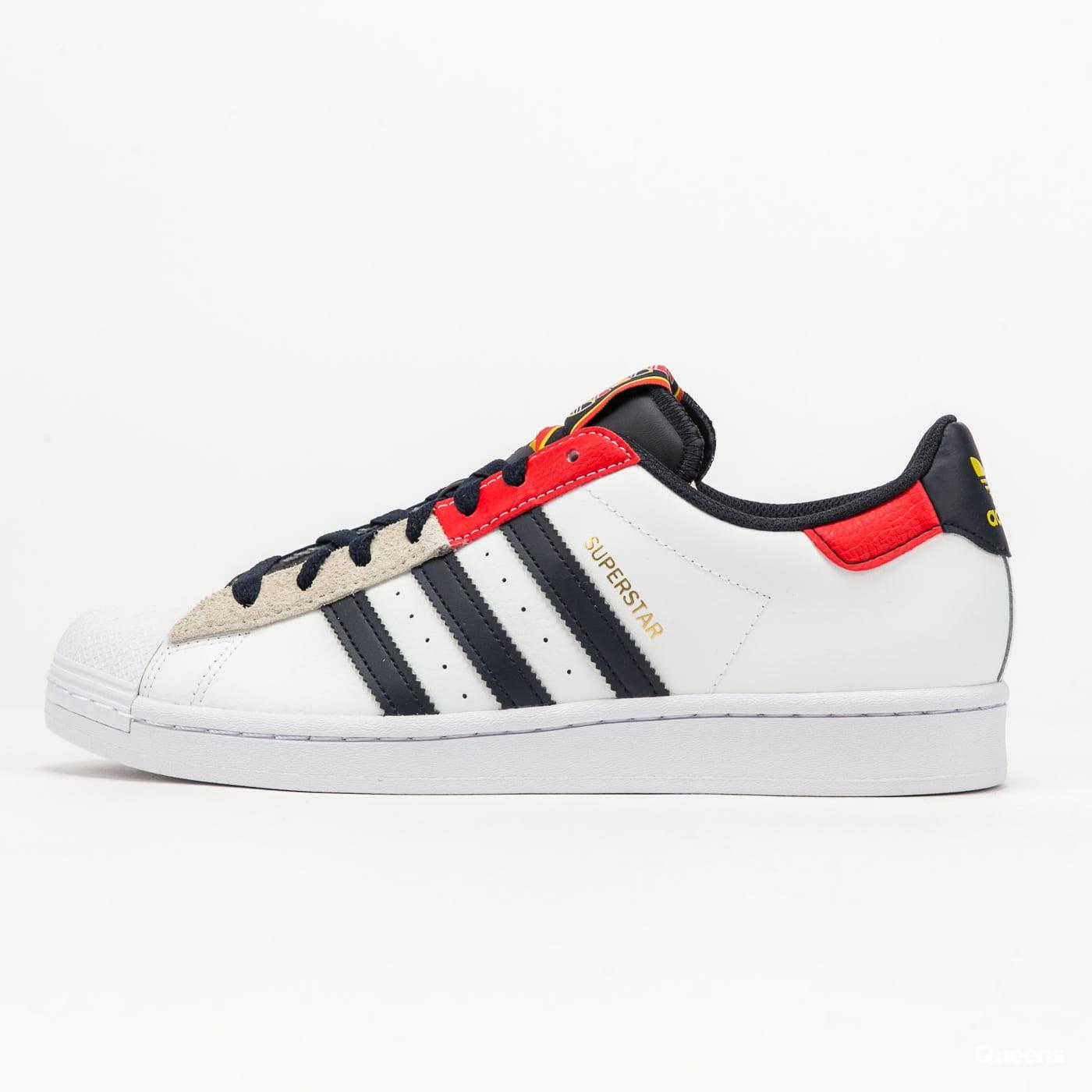 adidas Originals Superstar ftwwht / legink / red