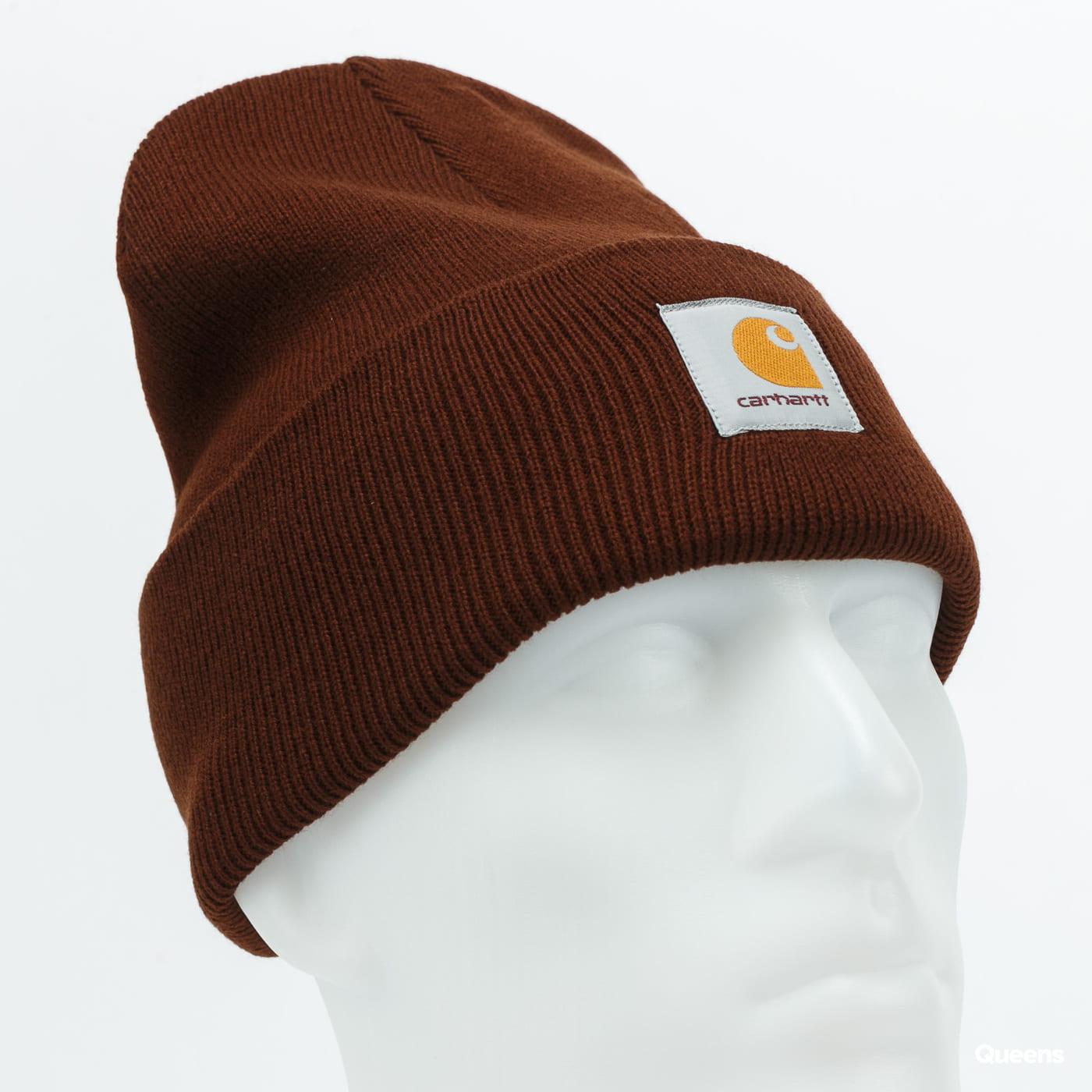 Carhartt WIP Acrylic Watch Hat dark brown