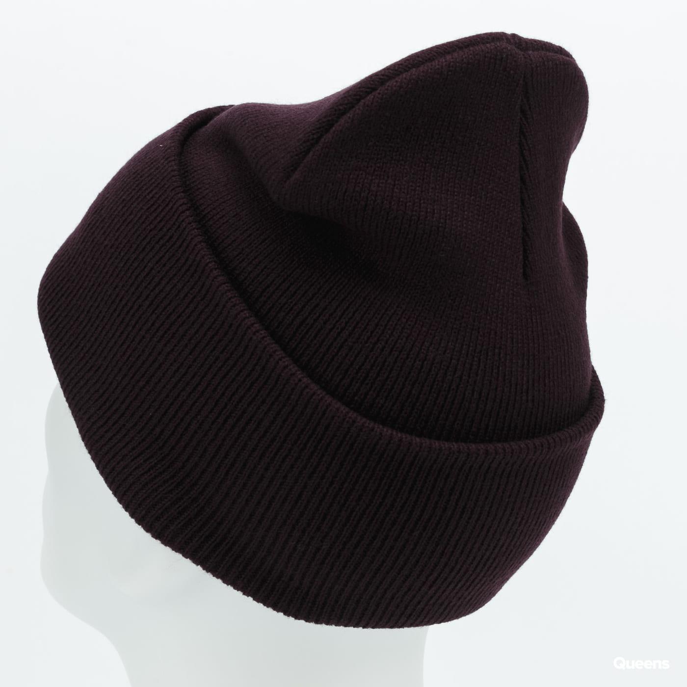 Carhartt WIP Acrylic Watch Hat dark purple