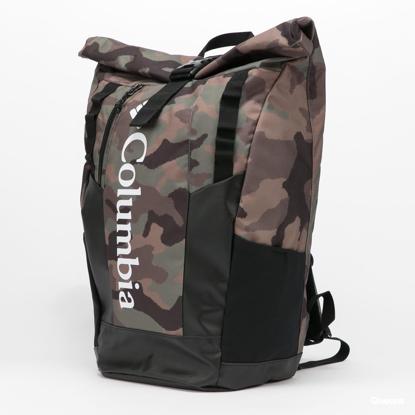 Columbia Convey 25L Rolltop Daypack camo zelený / černý