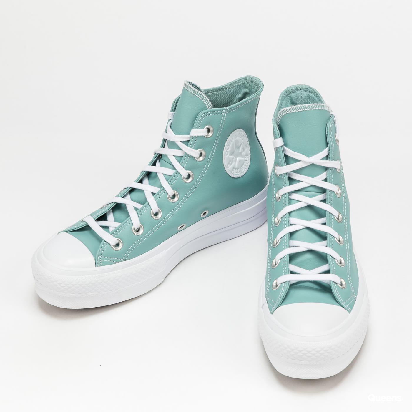 Converse Chuck Taylor All Star Lift Hi soft aloe / white / white