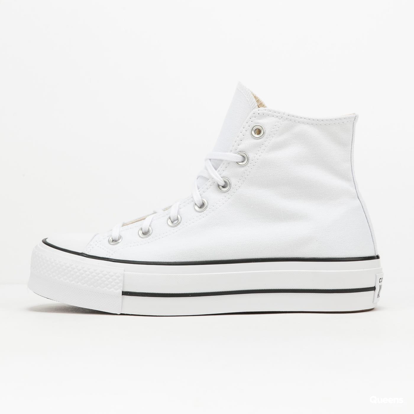 Converse Chuck Taylor All Star Lift Hi white / black / white