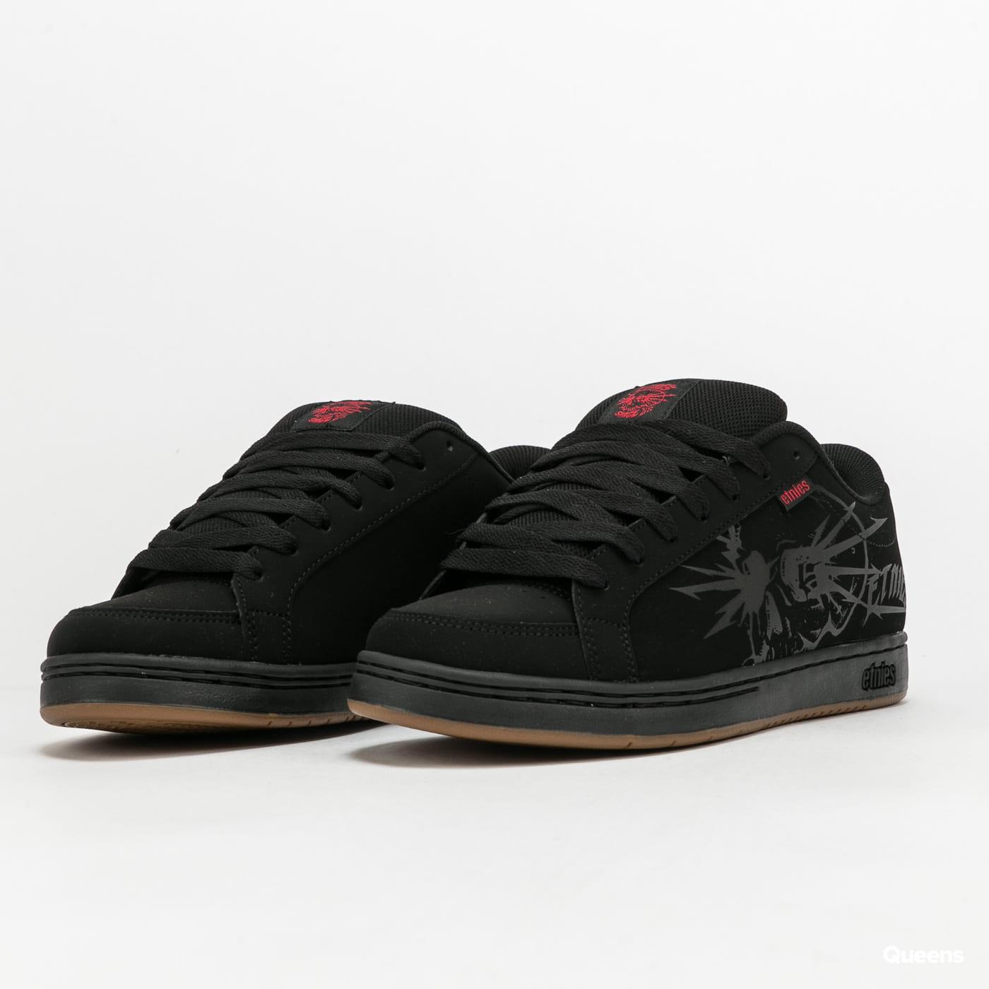 etnies Kingpin 2 black / black / print