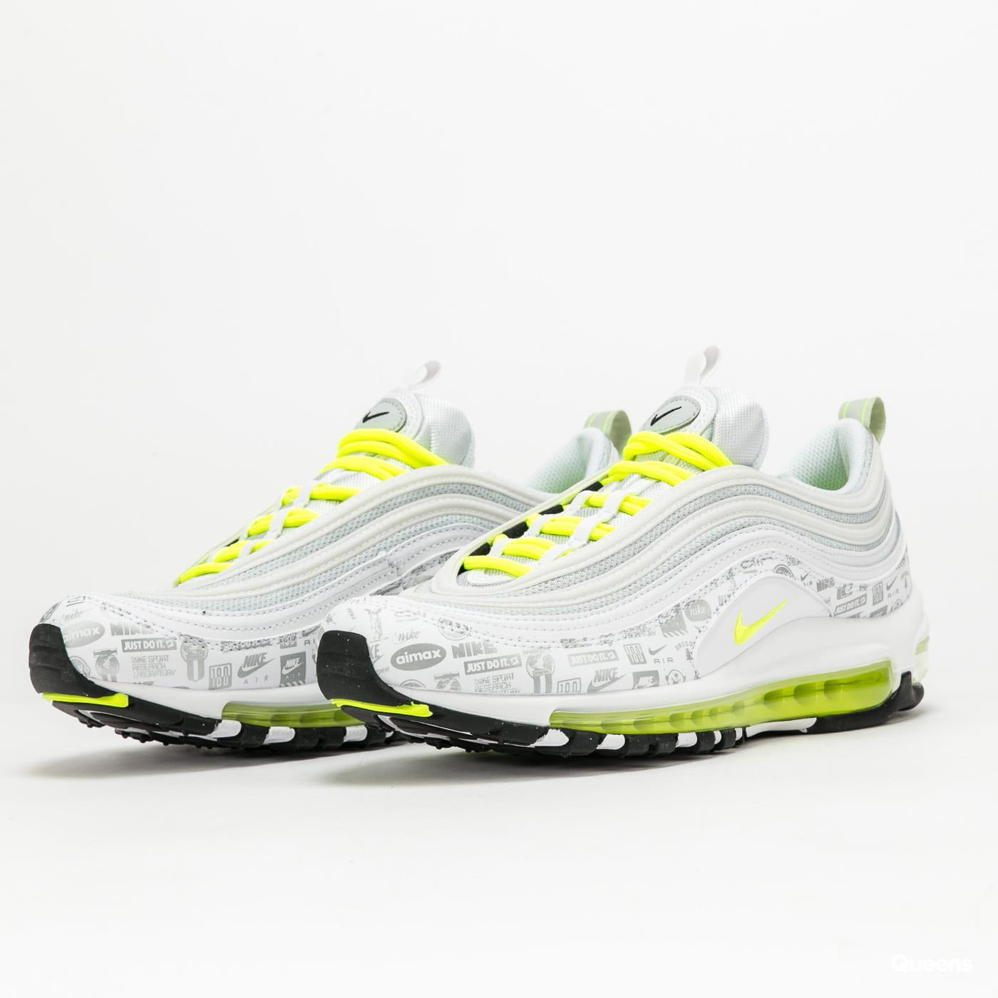 Nike Air Max 97 (GS) white / volt - black - pure platinum