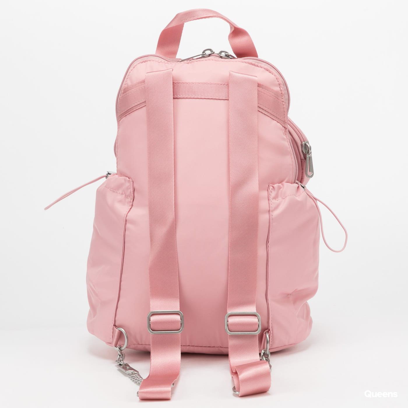 Nike W NSW Futura Luxe Mini Backpack růžový