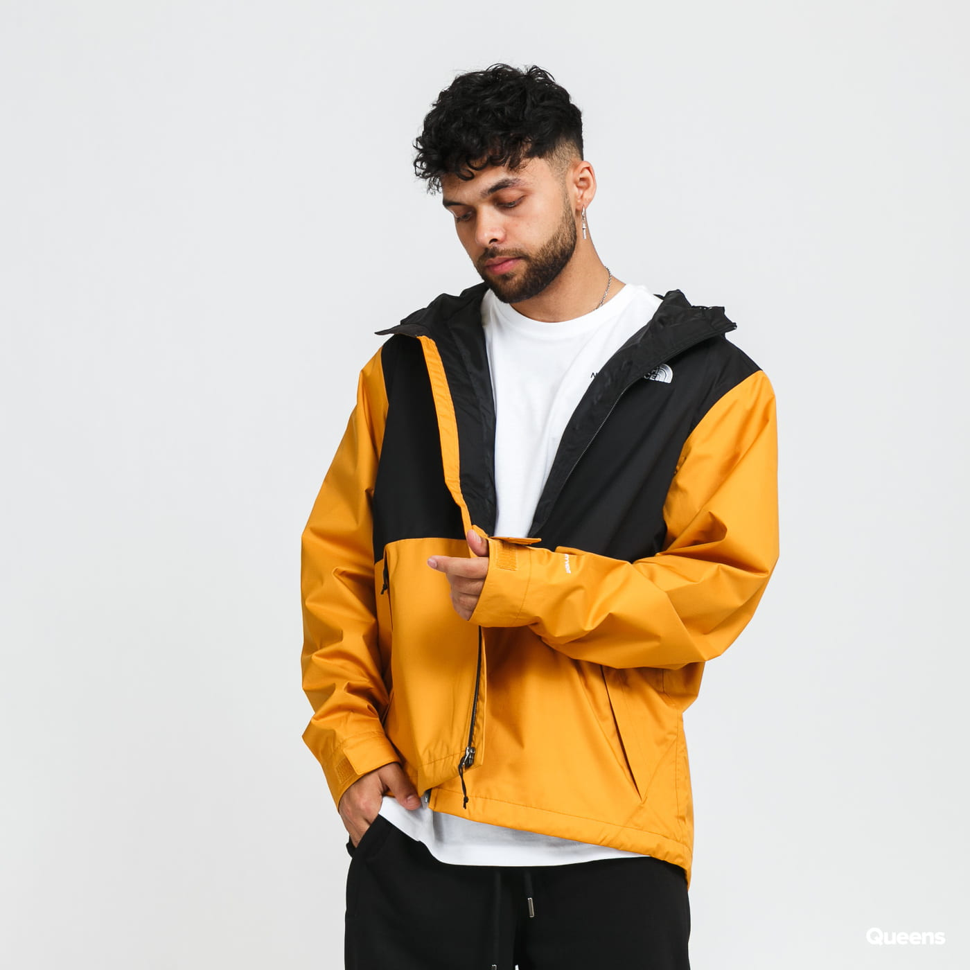 The North Face M Millerton Jacket tmavě žlutá / černá