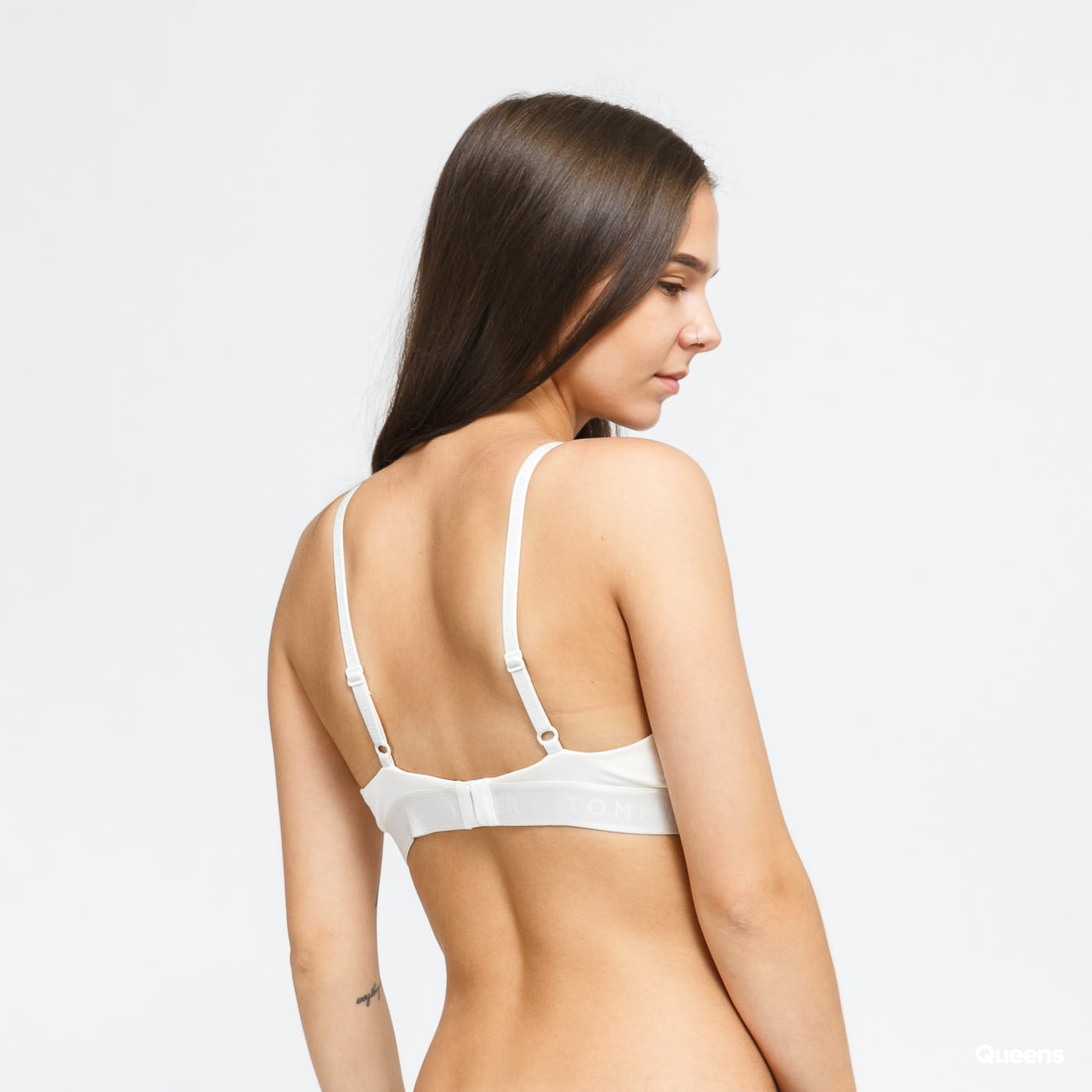 Tommy Hilfiger Seacell Triangle Bralette cream