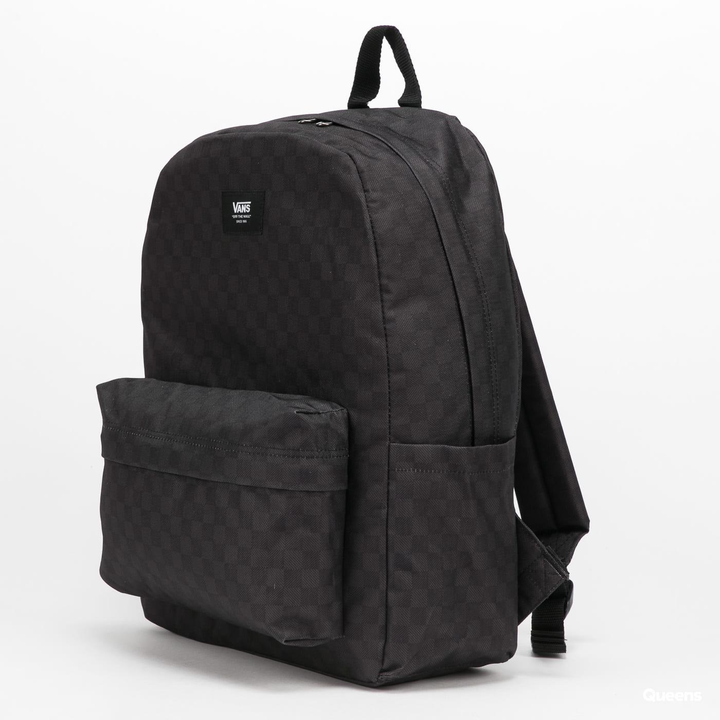Vans Old Skool Check Backpack černý / tmavě šedý