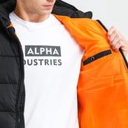 Alpha Industries Hooded Puffer Alpha FD gray / beige / pink / black