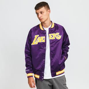Mitchell & Ness NBA Lightweight Satin Jacket LA Lakers