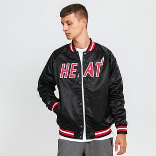Mitchell & Ness NBA Lightweight Satin Jacket Miami Heat