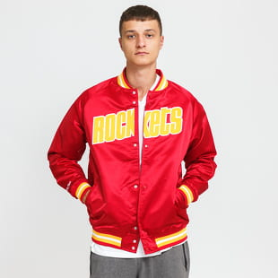 Mitchell & Ness NBA Lightweight Satin Jacket Rockets