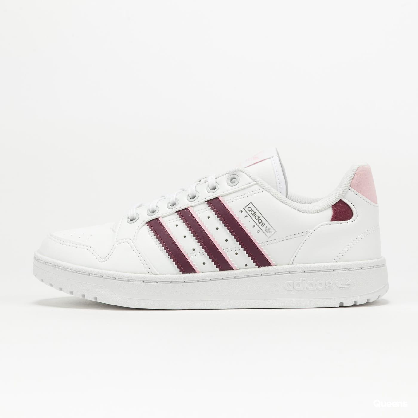 adidas Originals NY 90 Stripes W ftwwht / viccri / clpink