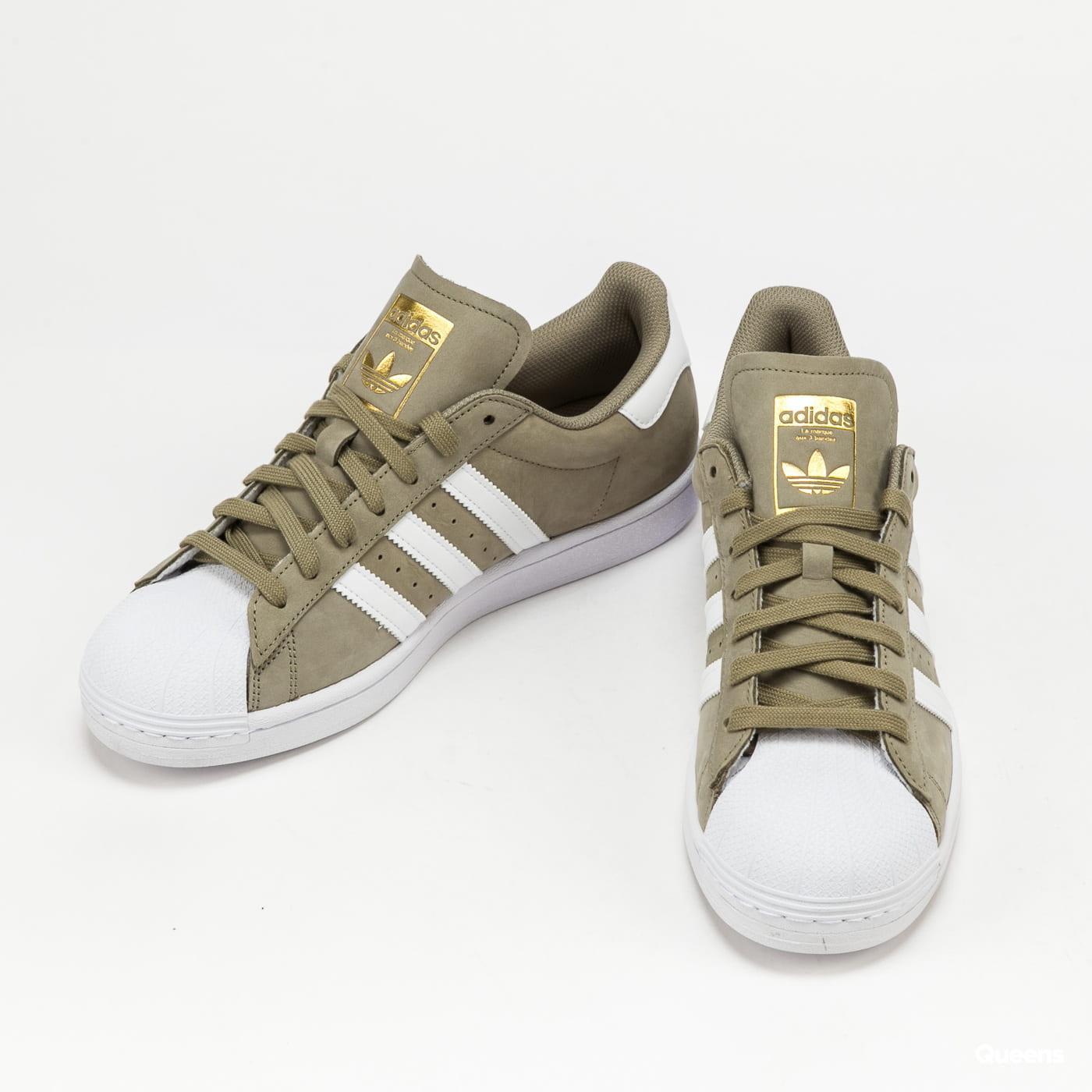 adidas Originals Superstar orbgrn / ftwwht / goldmt