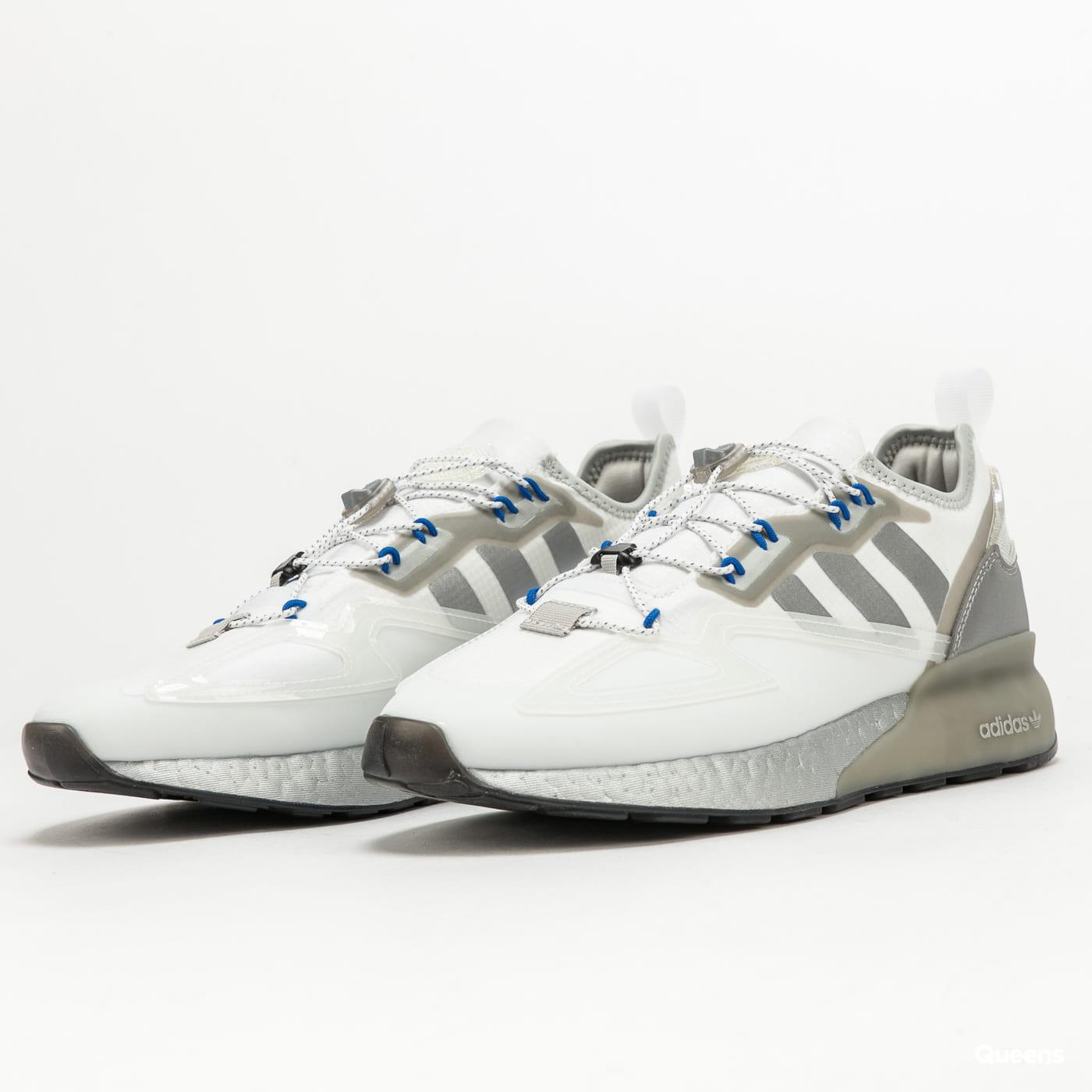 adidas Originals ZX 2K Boost ftwwht / silvmt / cblack