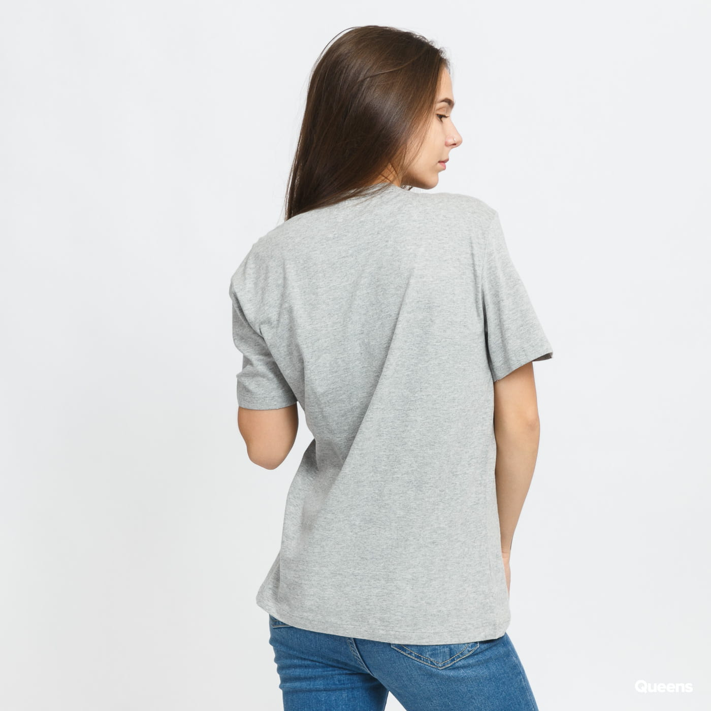Calvin Klein SS Crew Neck melange gray