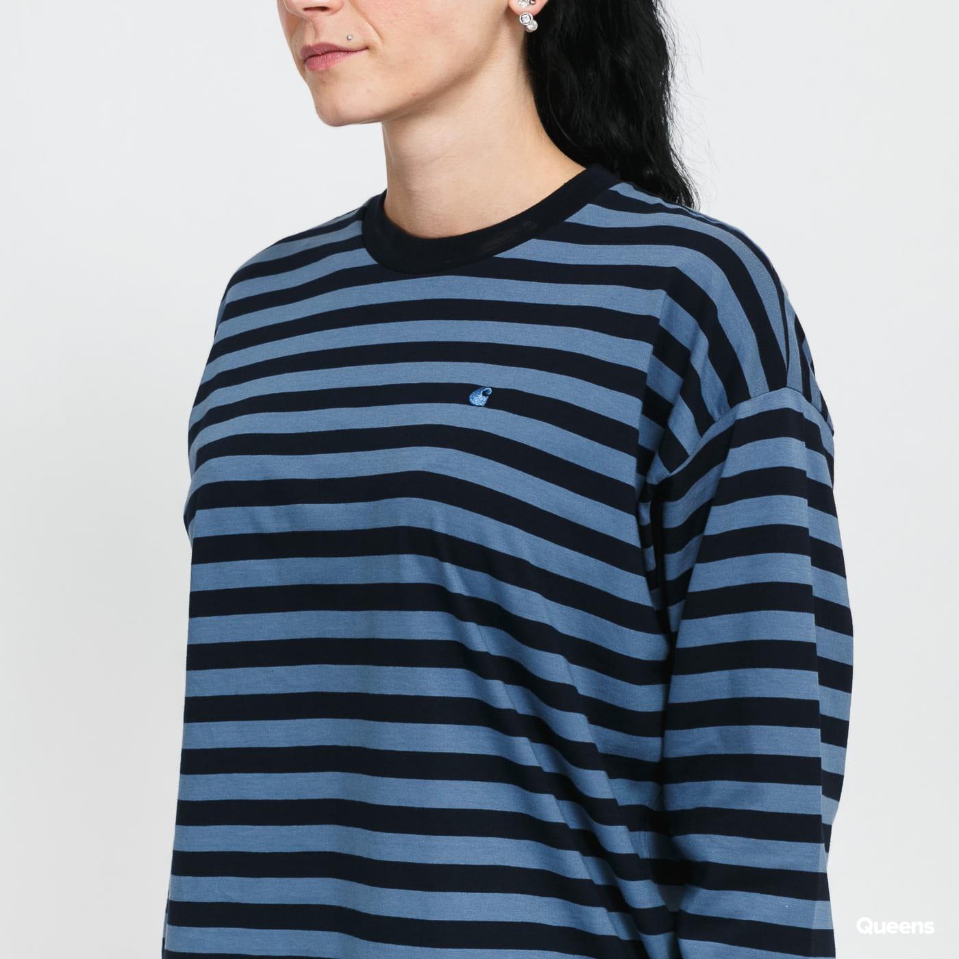 Carhartt WIP W' L/S Scotty T-Shirt navy / blue