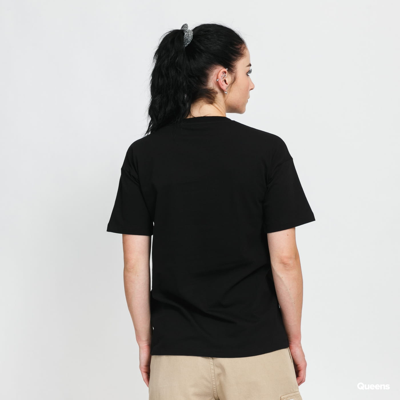Carhartt WIP W' SS Script T-shirt black stone washed no length