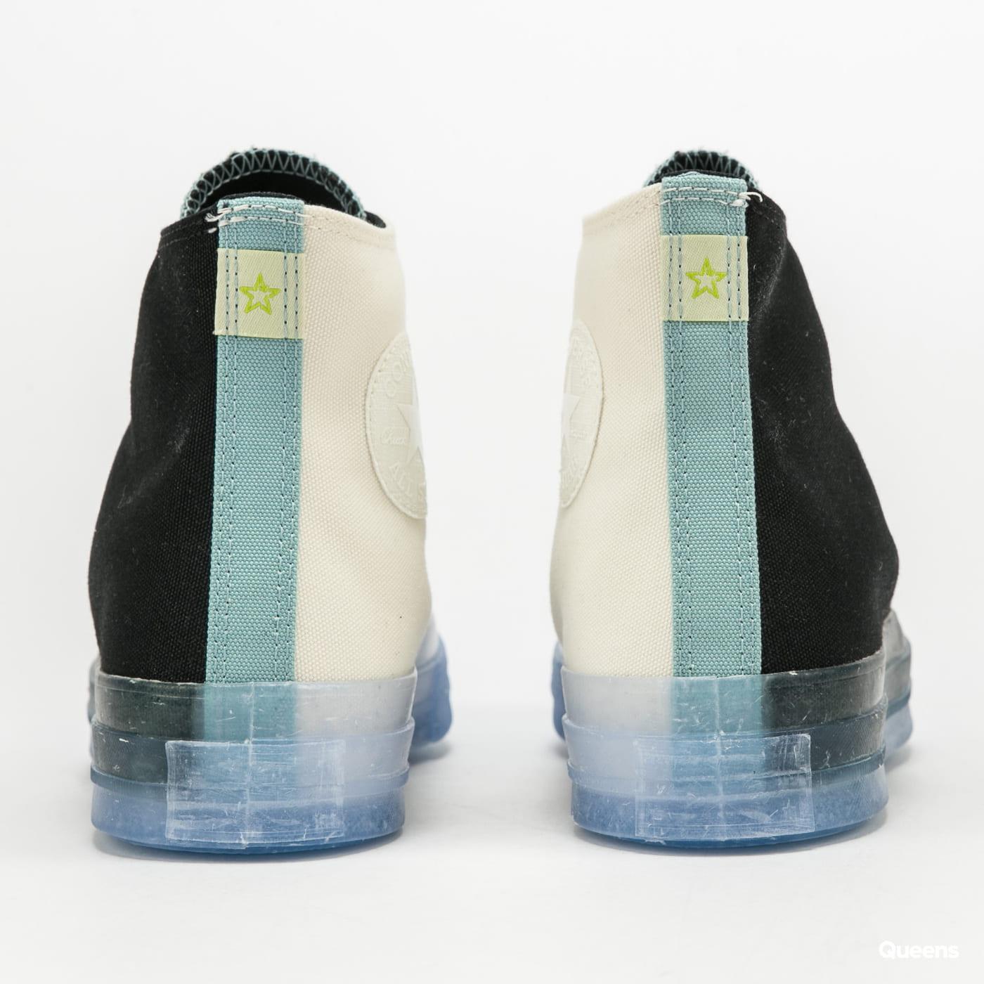 Converse Chuck 70 Hi egret / black / forest pine