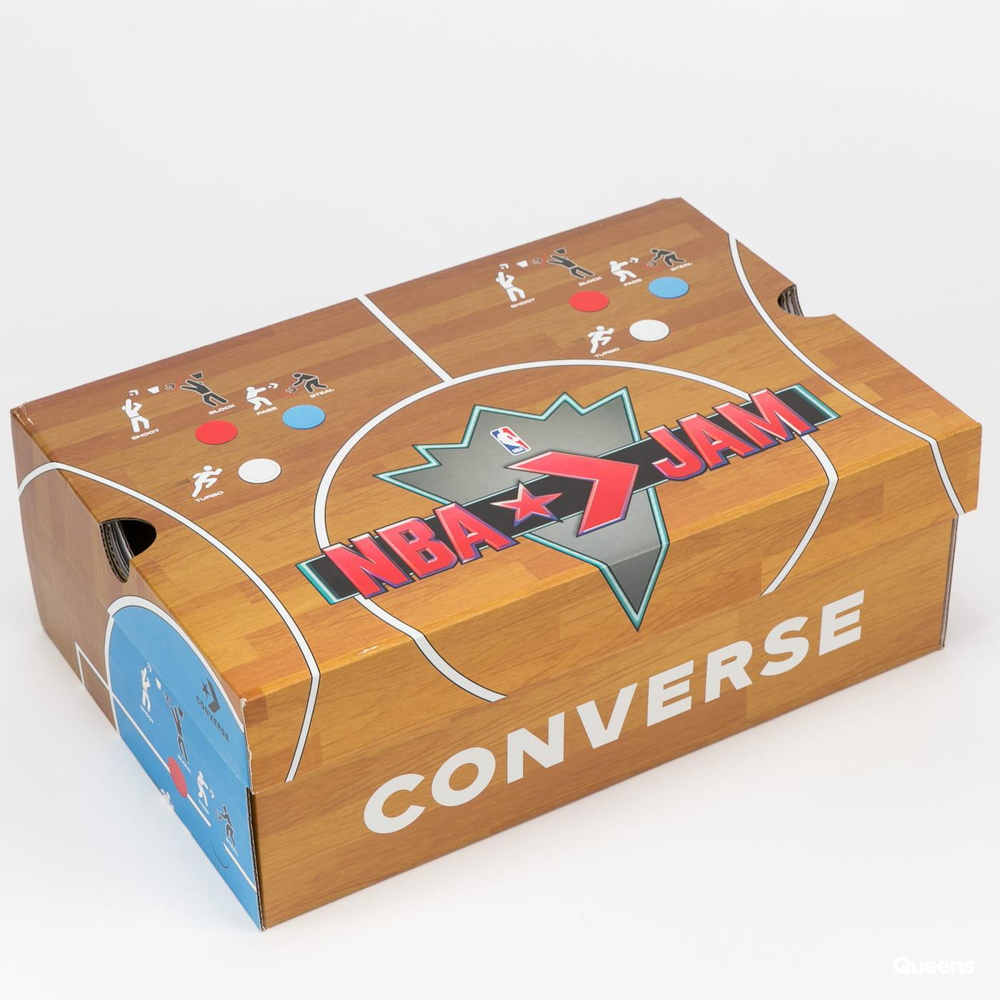 Converse Chuck 70 Hi brown / solar red / electric aqua
