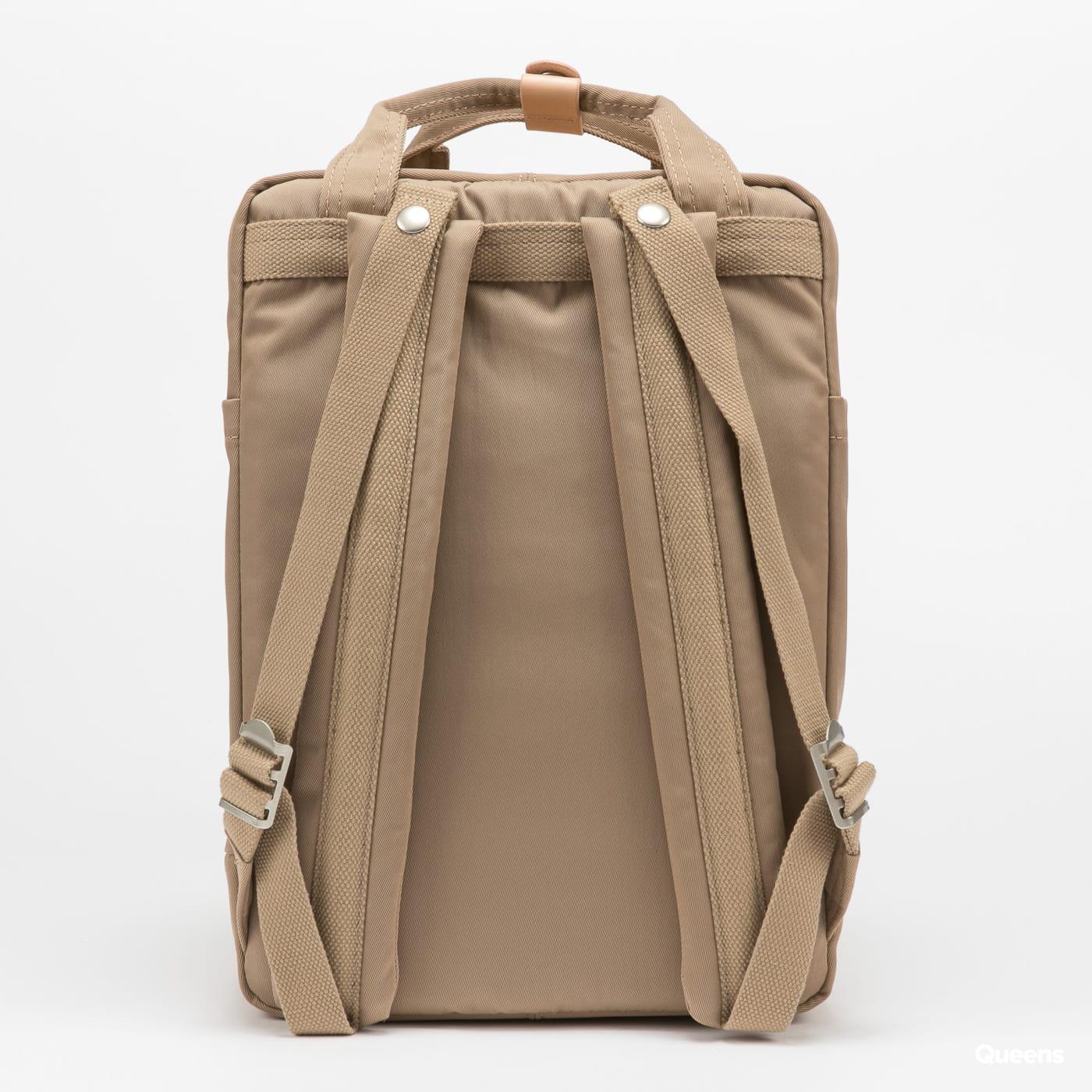 Doughnut Macaroon Backpack světle hnědý