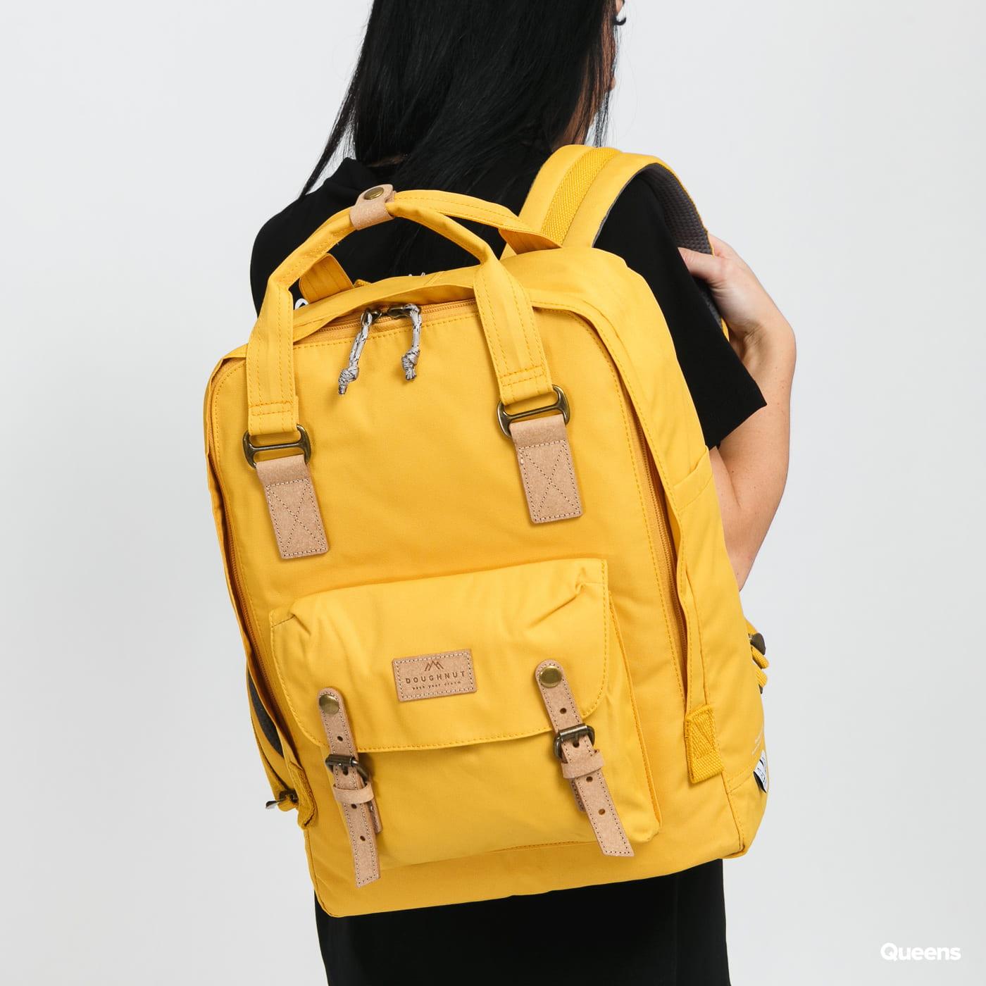Doughnut Macaroon Large Reborn Series Backpack žlutý