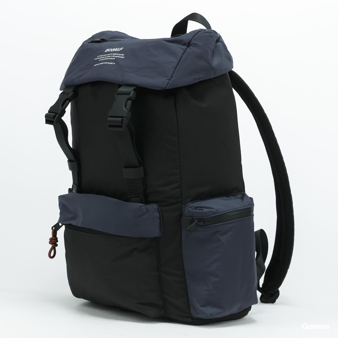 Ecoalf Wild Sherpalf Backpack černý / navy